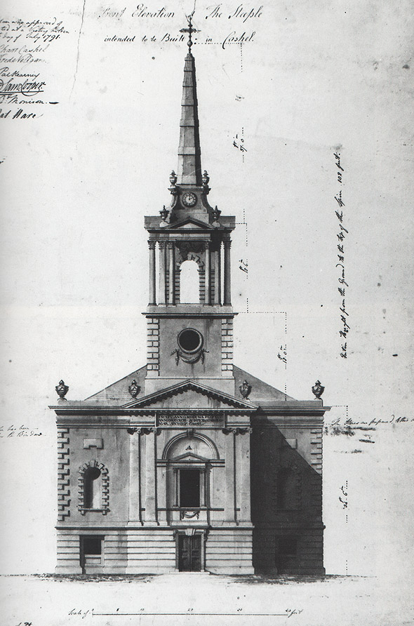 1791 – Design for Cashel Cathedral Steeple