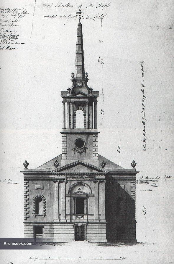 1791 – Design for Cashel Cathedral Steeple