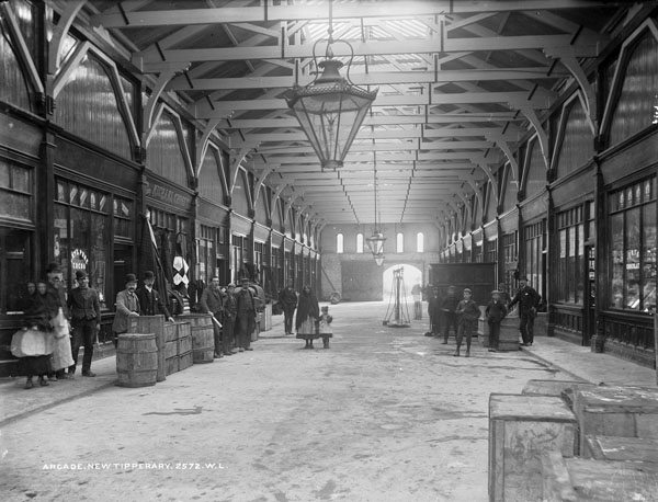 1890 &#8211; William O&#8217;Brien Arcade, New Tipperary, Co. Tipperary