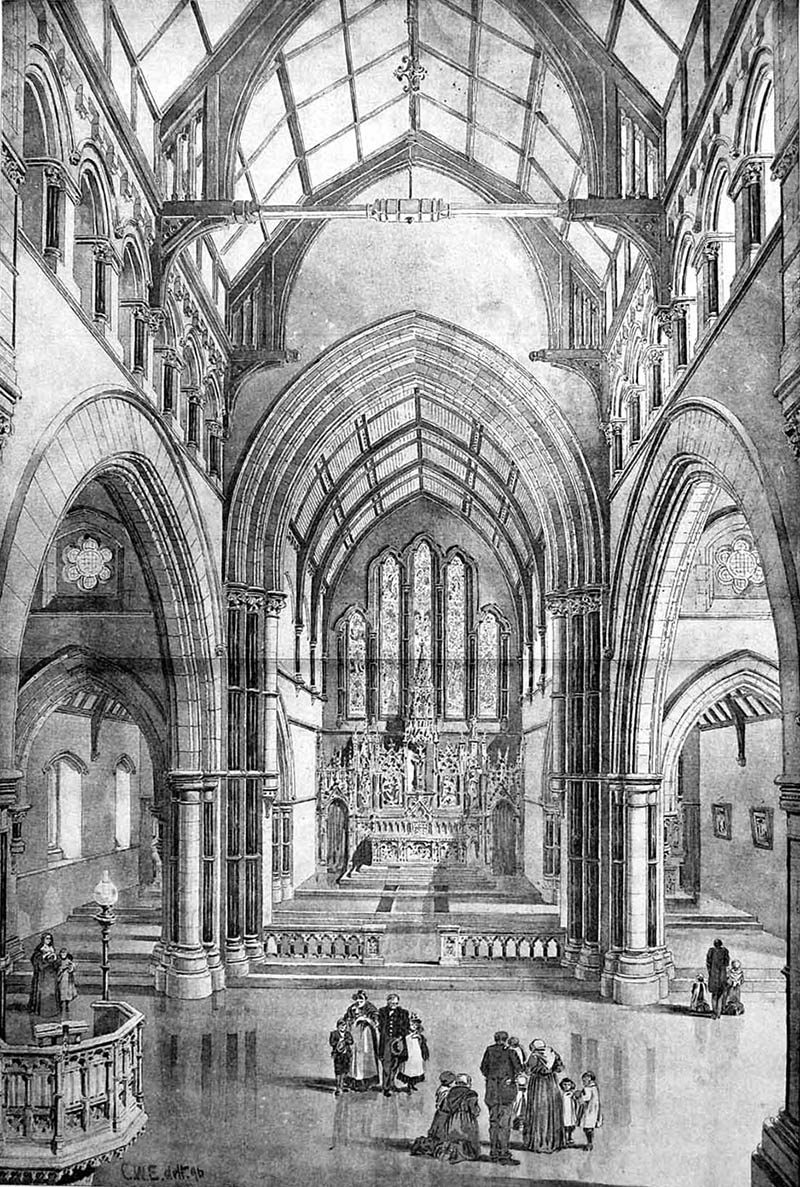 1906 – St. Mary`s Church, Nenagh, Co. Tipperary