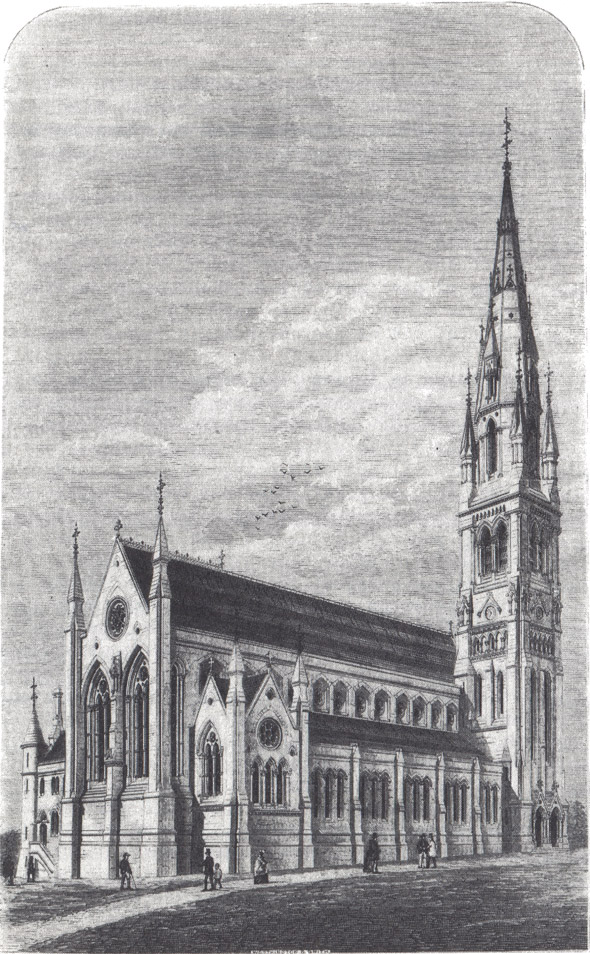 1871 – St. Patrick's Church, Dungannon, Co. Tyrone