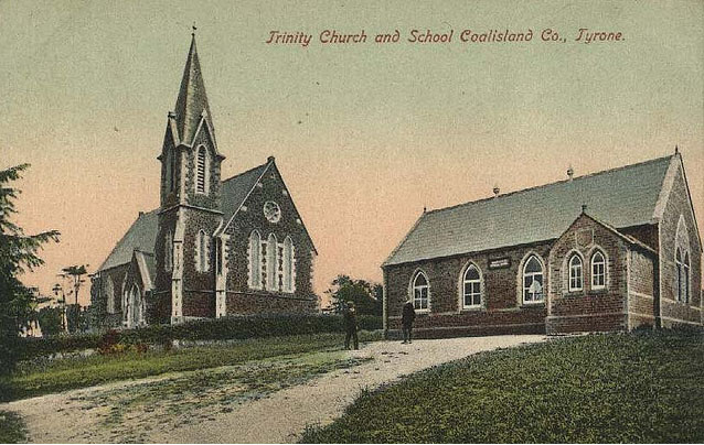 1865 – Trinity Church and School, Coalisland, Co. Tyrone