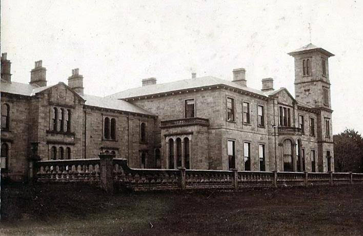 1860 &#8211; Aughentaine Castle, Fivemiletown, Co. Tyrone