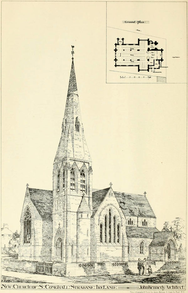 1877 &#8211; Christ Church of Ireland, Strabane, Co. Tyrone