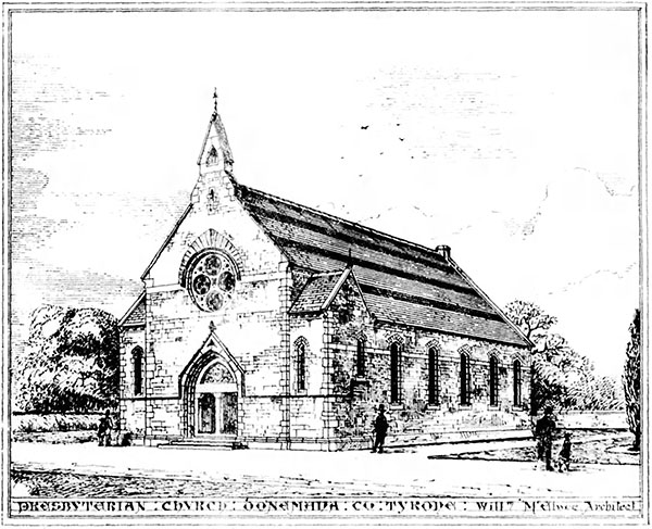 1876 – Presbyterian Church, Donemana, Co. Tyrone