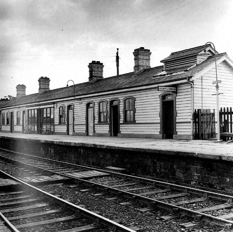 1904 – Railway Station & Signal Box, Victoria Bridge, Co. Tyrone