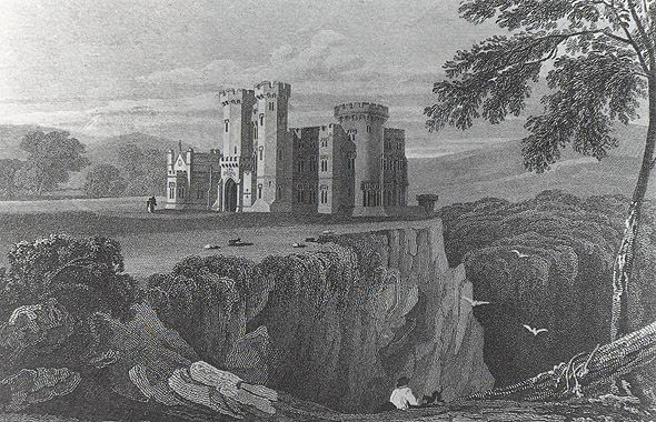 1818 &#8211; Design for Glencairn Abbey, Co. Waterford