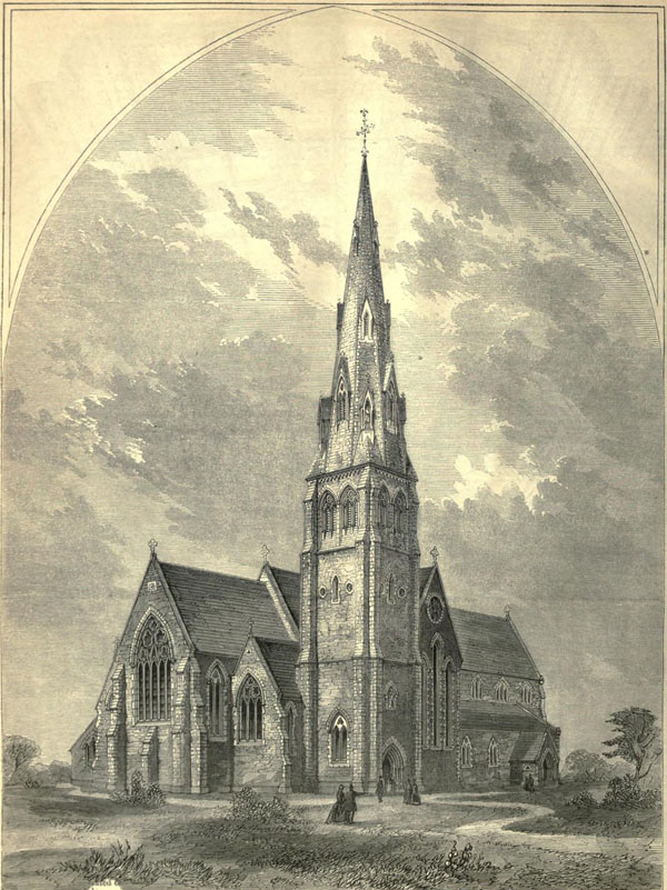 1861 &#8211; Church of the Holy Cross, Tramore, Co. Waterford