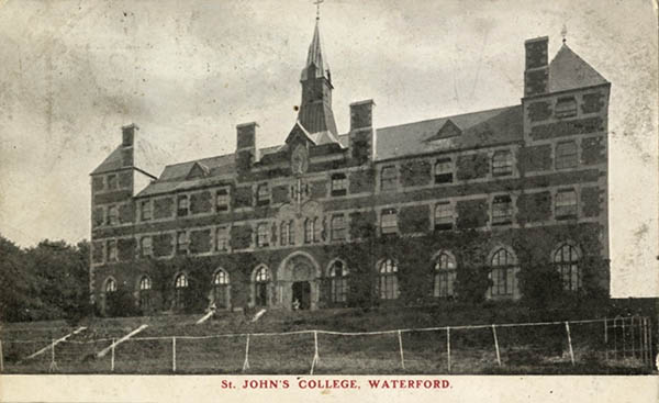 1870 – St. John's College, Waterford