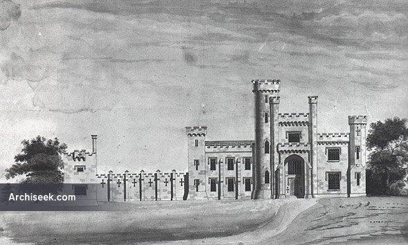 1812 – Design for Knockdrin Castle, Co. Westmeath