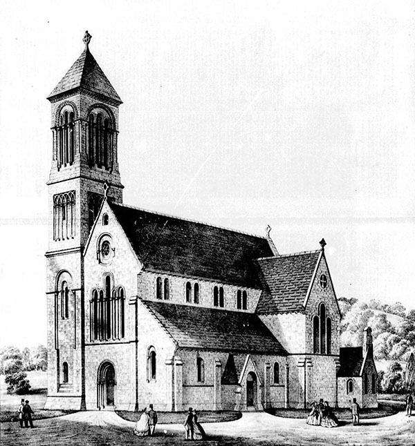 1861 – Design for SS Peter & Paul Church, Moate, Co. Westmeath
