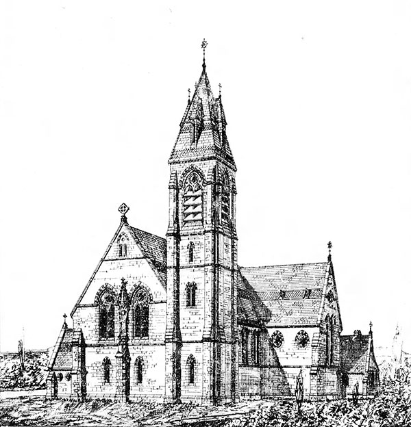 1885 – St. Michael's Church, Castletown Geoghegan, Co. Westmeath