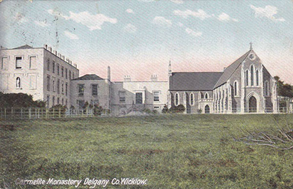 1860 &#8211; Carmelite Monastery, Delgany, Co. Wicklow
