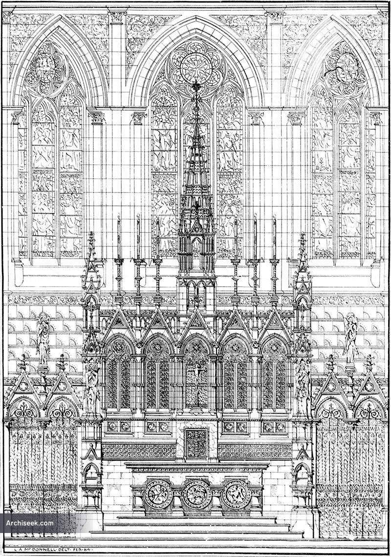 1884 – Design for High Altar