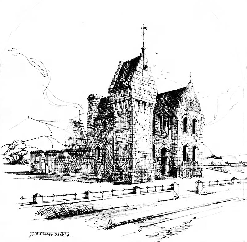 1870 – Design for RIC Barracks, Ireland