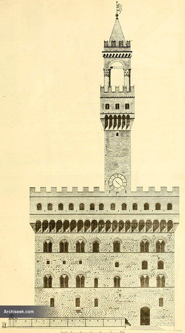 1299 – Palazzo Vecchio, Florence, Italy