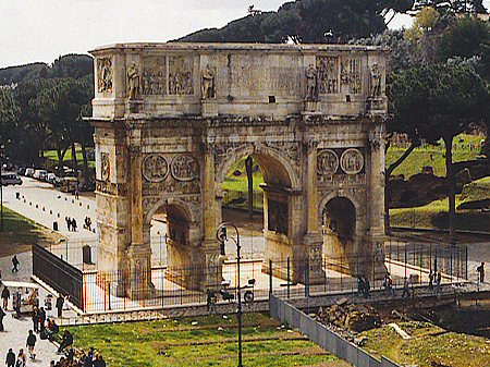 315 &#8211; Arch of Constantine, Rome, Italy