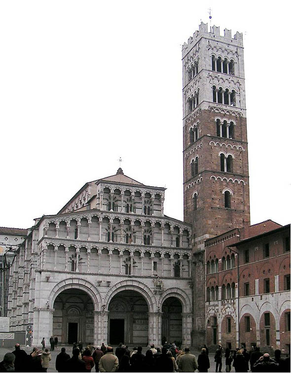 Cattedrale San Martino, Lucca, Italy