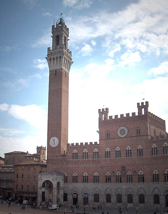 1309 &#8211; City Hall, Siena, Italy