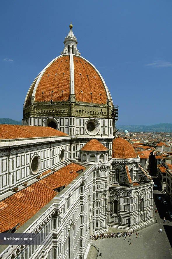 1436 – Basilica di Santa Maria del Fiore, Florence, Italy