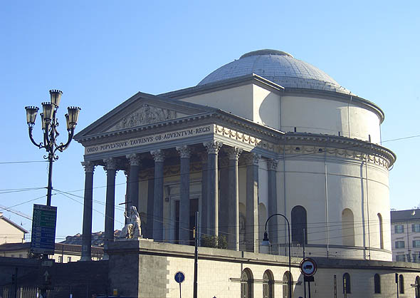 1830s &#8211; Gran Madre di Dio, Turin, Italy