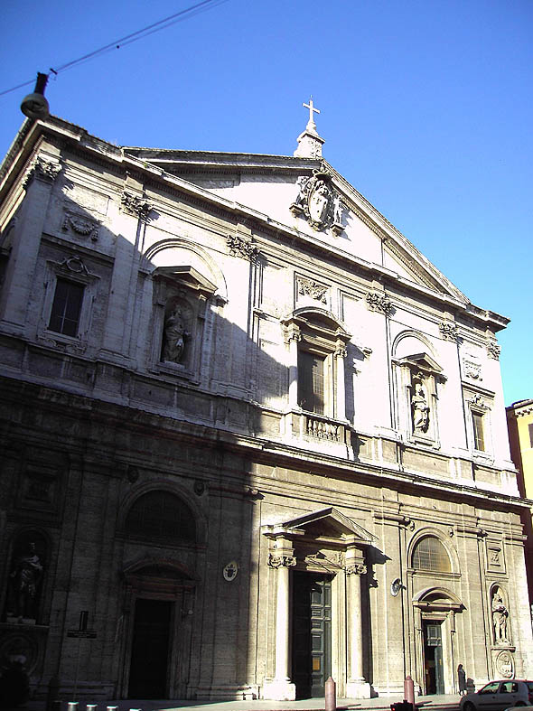 1589 &#8211; San Luigi dei Francesi, Rome, Italy