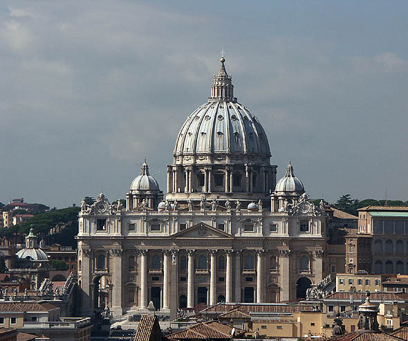 1626 – St. Peter's Basilica, Rome, Italy