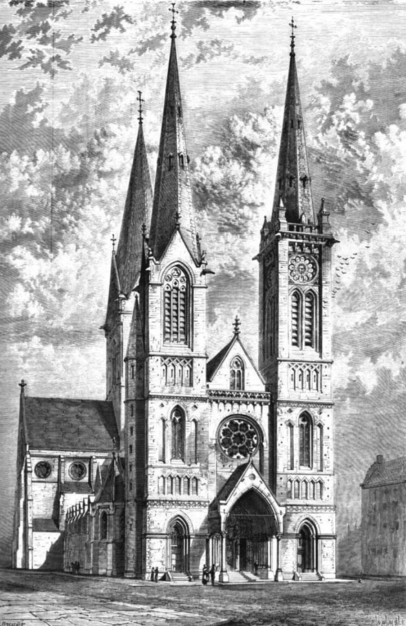 1870 &#8211; St. Barbara&#8217;s Church, Breda, Netherlands