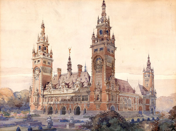 1905 &#8211; Peace Palace Competition, The Hague, The Netherlands