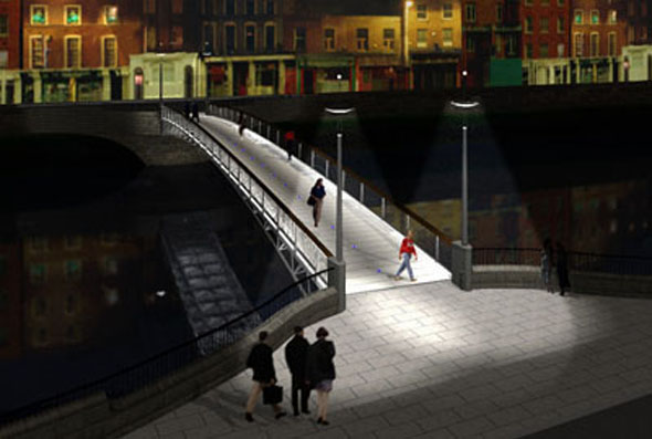 New Liffey Pedestrian Bridge