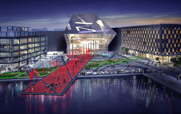 Dockland scheme to express 'vitality of Dublin'