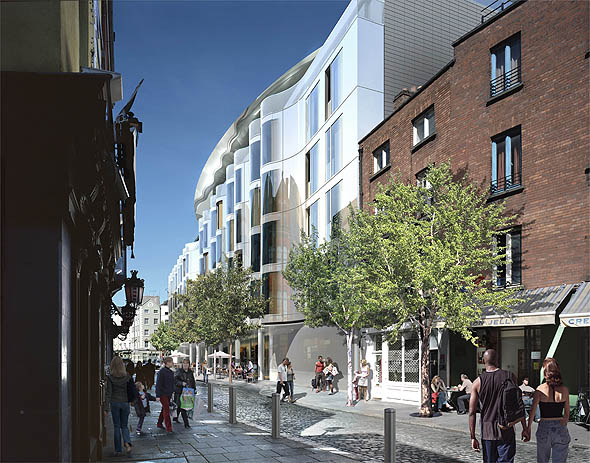 2007 – Design for Clarence Hotel, Dublin