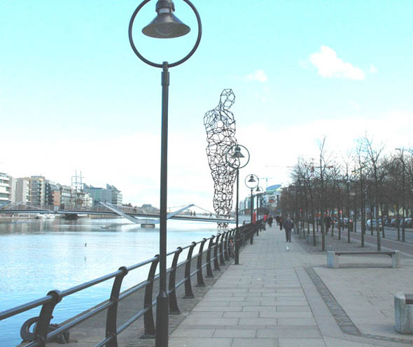 Proposed Gormley Liffey Sculpture Lodged for Planning