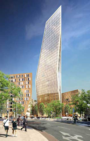 Council rejects Dunne's giant tower