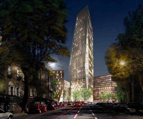 Planning board gets 127 appeals on Ballsbridge tower