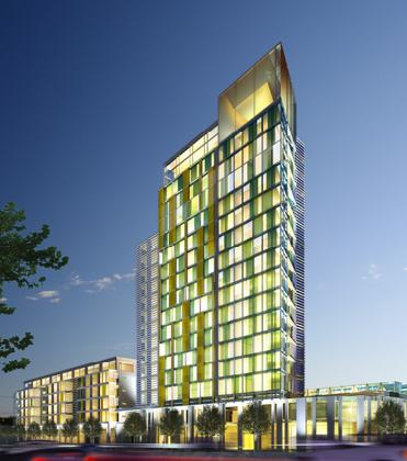 HKR Architects Obtain Planning Permission for Irelands Tallest Hotel