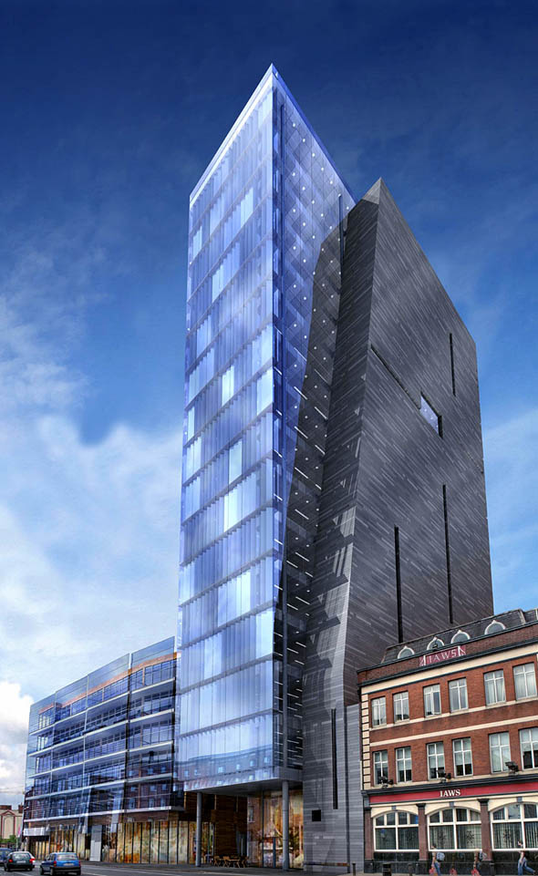26-storey tower planned for site in Dublin 8
