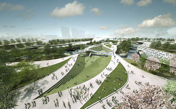 Heneghan Peng Architects to design Olympic Park Footbridge for 2012