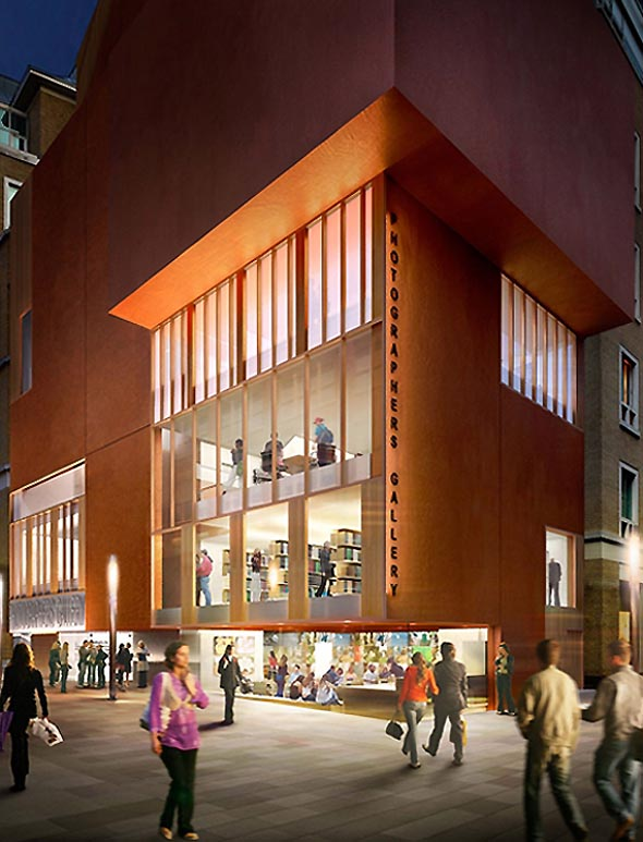 O'Donnell & Tuomey's Photographers Gallery wins planning in London