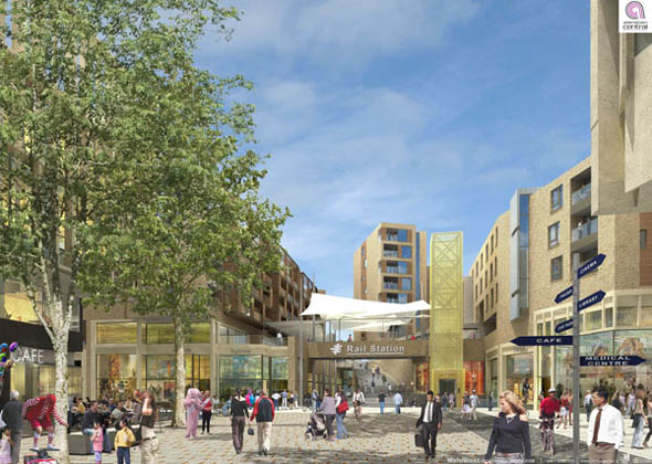 Application for new €1.2bn town centre