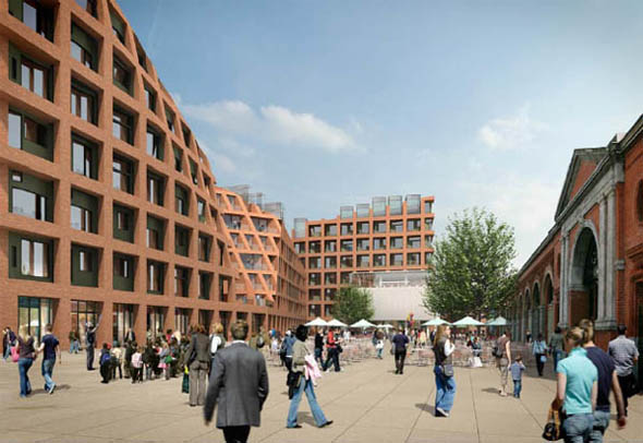 HKR, Make and Gehl to redesign Dublin's City Markets