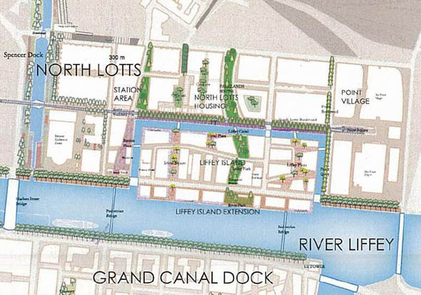 DDDA move forward with Liffey Island development