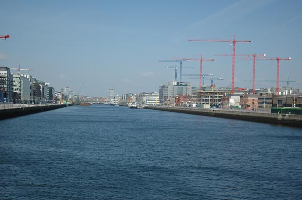Dublin docklands €4.5bn expansion plan goes on show