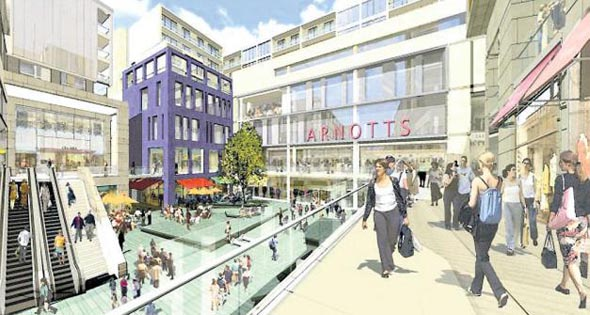Arnotts granted planning permission for scaled-down city centre scheme