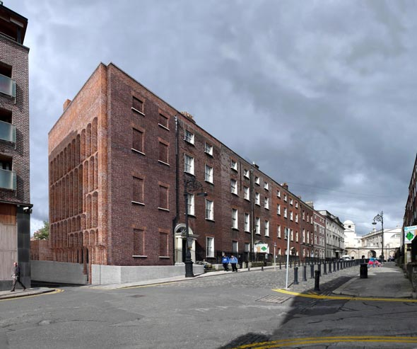 Ryan W. Kennihan Architects wins Henrietta Street Ideas Competition