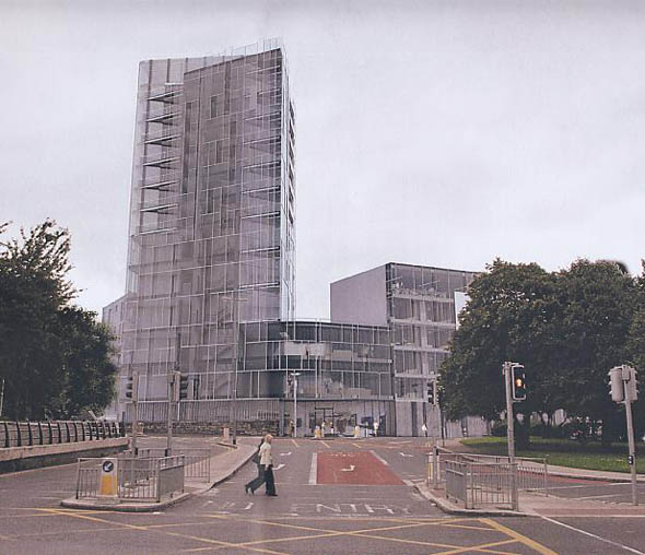 Artist Ballagh opposing planned 14-storey building