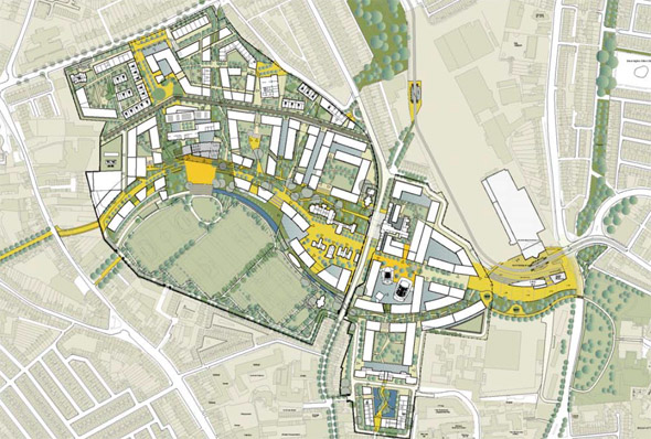 Planning for a 'visionary urban development'