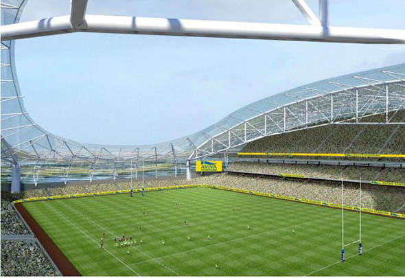 Buro Happold creating unique geometry at Lansdowne Road Stadium