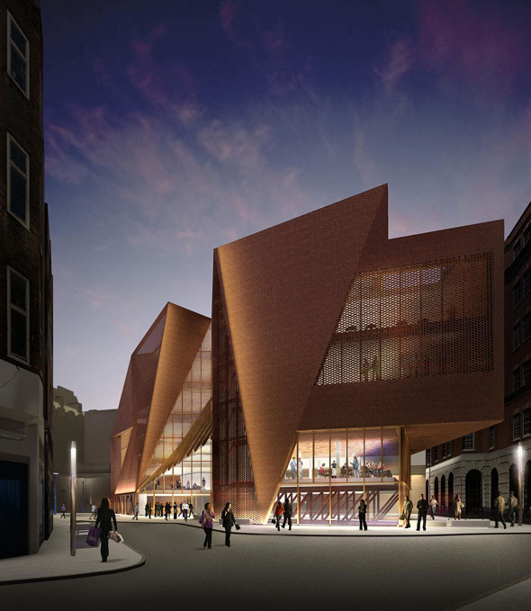O&#8217;Donnell + Tuomey to design new 21.5 million Students&#8217; Centre at the London School of Economics