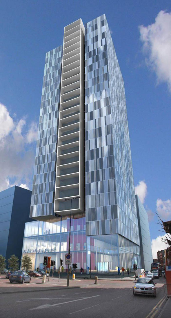 £50m hotel scheme for Belfast city centre
